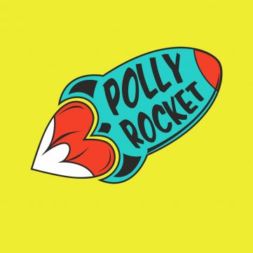 polly rocket logo